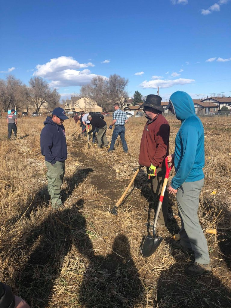 Members learn Wildland Fire Training from Colorado Division of Fire Prevention and Control.
